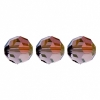 Swarovski Bead 5000 Round 10mm Lilac Shadow Crystal
